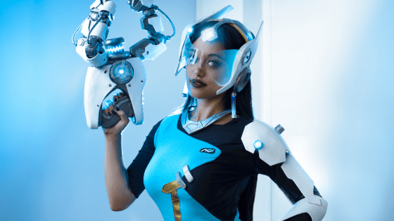 Overwatch:  Symmetra Cosplay by Lunar Crow