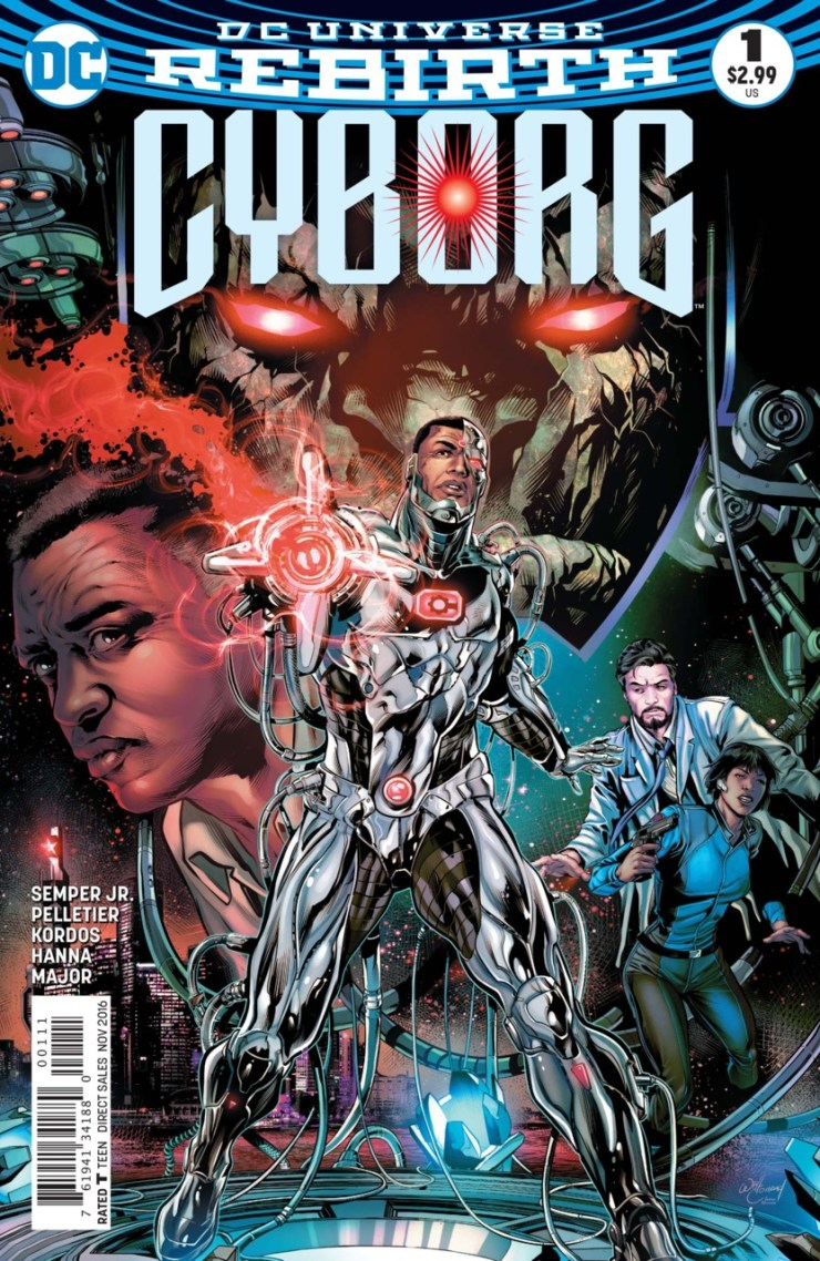 Cyborg #1 Review