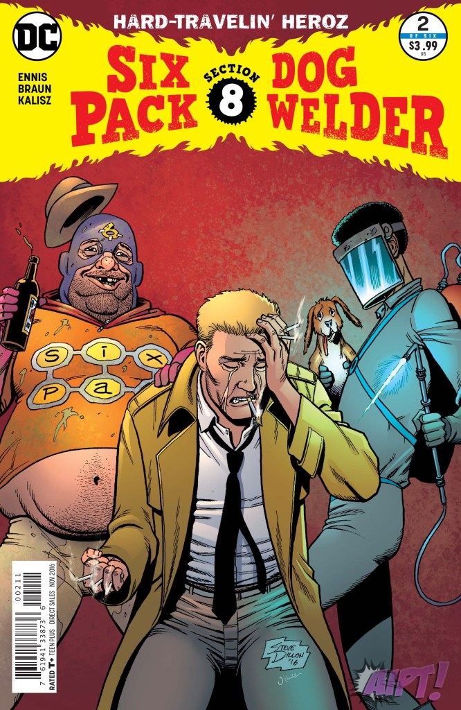 Sixpack and Dogwelder: Hard-Travelin' Heroz #2 Review