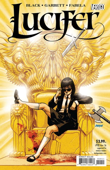 Lucifer #10 Review
