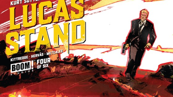 Fans of Sons of Anarchy should prick up their ears when they hear of Lucas Stand, a new series co-written by its series creator and released by BOOM! Studios. It has been an extremely enjoyable experience through its first three issues (we've rated it highly!). Not only is series creator Kurt Sutter co-writing the series, but Lucas Stand feels like a great TV show in its own right. Call it a lost show you must see and you wouldn't be far off.