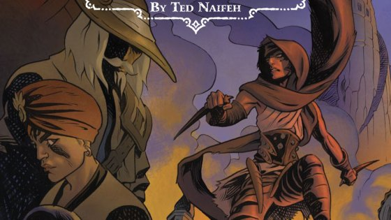 When I think about fantasy, I think swords and sorcery stuff. Gods might be thrown in there too, but superheroes? Not usually, which is what this new series from Oni appears to be postulating. Is it good?