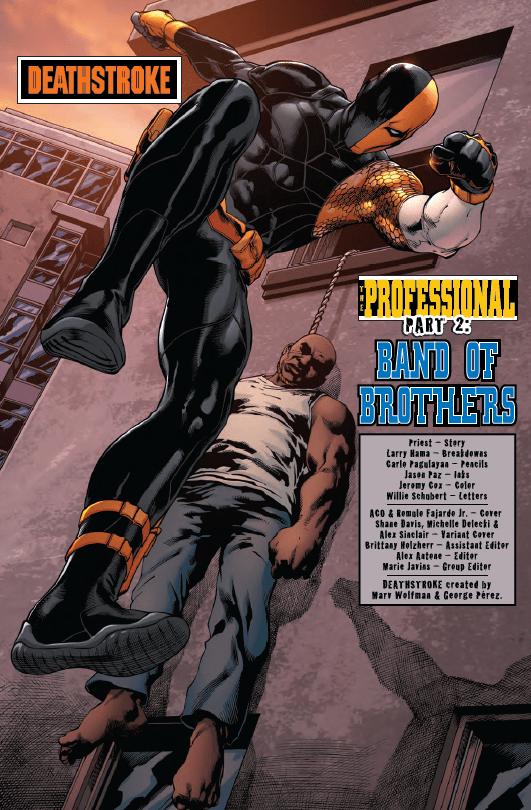 Should We Be Shocked by an Image from Deathstroke #2?