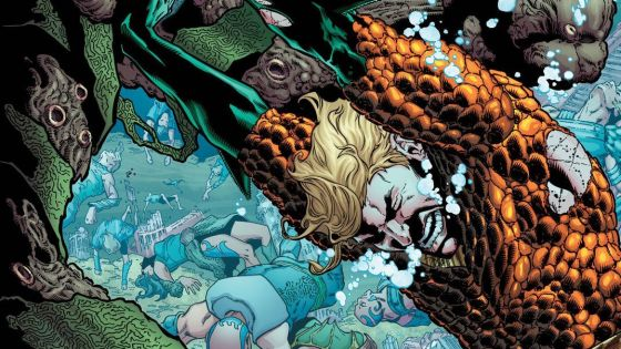 Aquaman has had it better. His greatest rival, Black Manta, has recently become the leader of a very powerful evil group and sent a monster to attack Atlantis and Mera has to jump through hoops just to marry him. The US government thinks he's a terrorist and his relationship with Superman and the Justice League is in question. Can he straighten all this out and still be the King Atlantis deserves? Is it good?