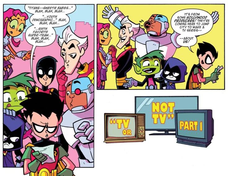 Teen Titans Go! #18 Review
