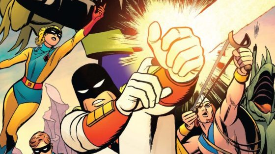 I'm one of those readers who doesn't know a lot about Hanna Barbera, so Future Quest has a been a real treat when new characters are introduced. It has a consistent main story, but each issue seems to have a few shorter stories near the end to mix things up. Issue #5 introduces some new characters, but is it good?