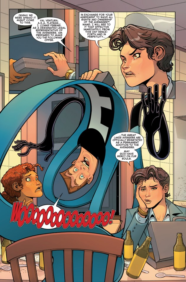 Great Lakes Avengers #1 Review