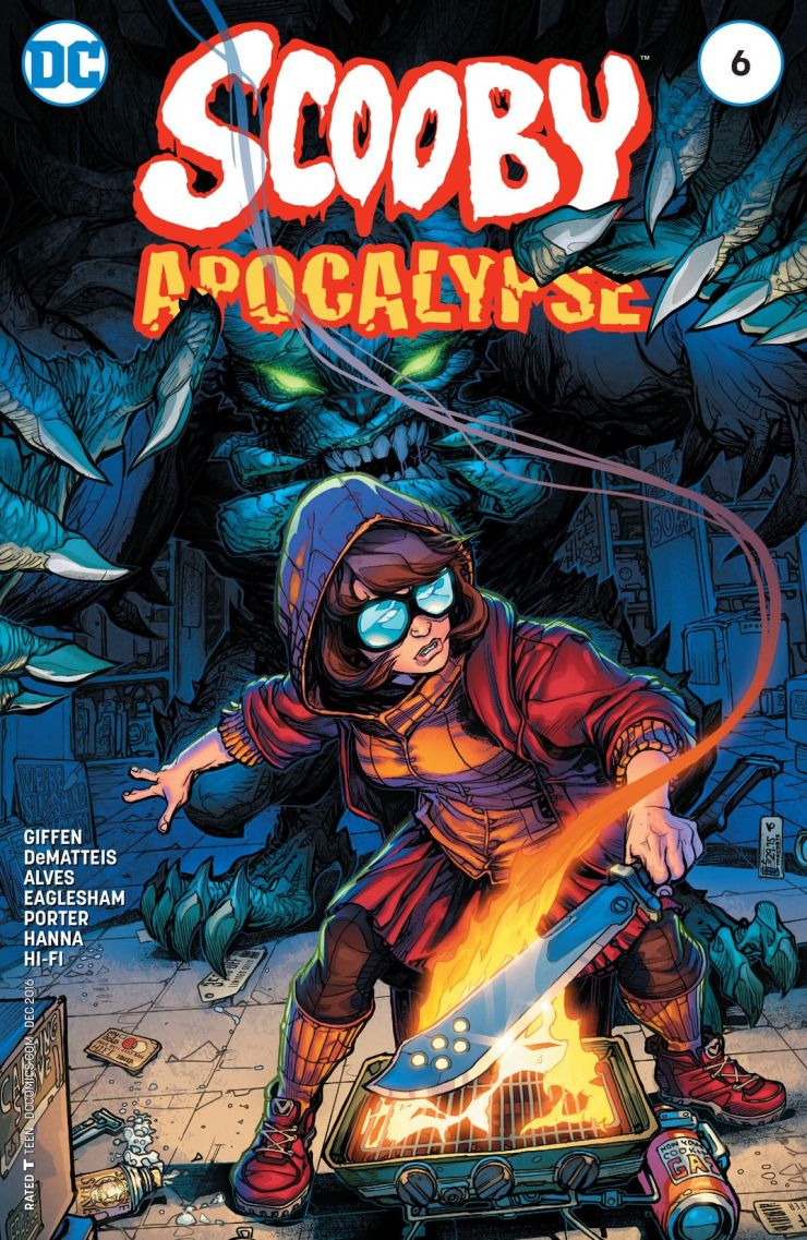 Scooby Apocalypse #6 Review