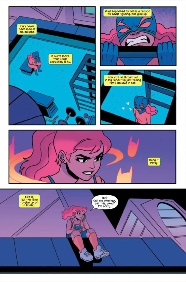 Patsy Walker, A.K.A. Hellcat! #11 Review