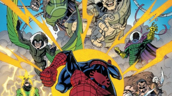The Sinister Six strike! For several months, Doctor Octopus and the Six have been planning and waiting to take down Spidey, but do they have to do it on Peter Parker's best week ever? It's all been leading to this…can a lone Spidey defeat all six of his most powerful foes?