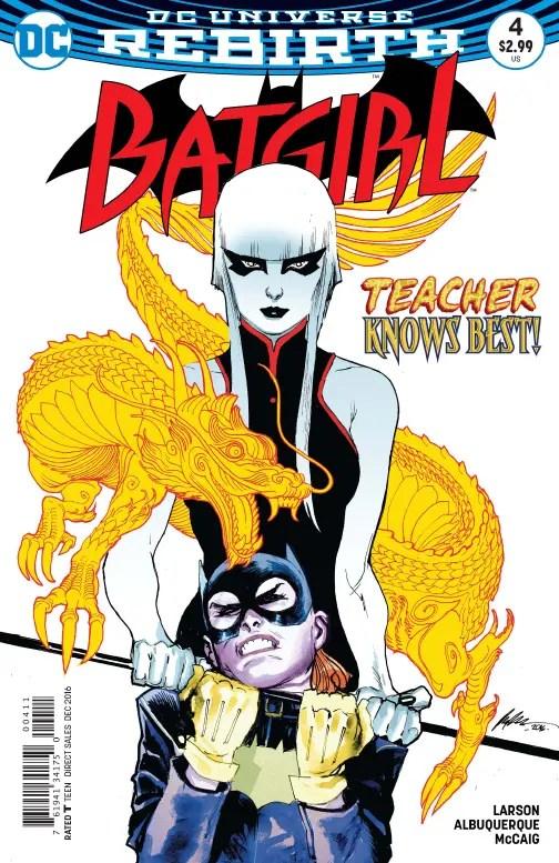 Batgirl #4 Review