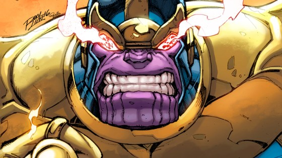 He is the greatest evil the universe has ever known. An unstoppable force whose name is whispered in hushed tones across the galaxy. Feared from one end of the cosmos to the other, he's returned to take back what is rightfully his! Today, Marvel is pleased to present your first look inside THANOS #1 – the new ongoing series from all-star creators Jeff Lemire (Moon Knight, Death of X) and Mike Deodato (Avengers, Invincible Iron Man)! Venture into the dark depths of one of Marvel's most vile villains as he enacts vengeance on all who would stand in his way. In his absence, Thanos' grip on the cosmos has loosened. As he returns to the stars to terrorize the galaxy once more, reborn and reinvigorated – are there any that can stop him? Many will try, including members of his own family – Thane, Starfox and many others. Will they succeed where others have failed?