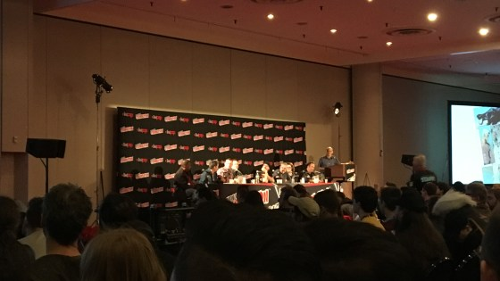 I was fortunate enough to be able to attend my top choice for panels at New York Comic Con, DC Rebirth – What's Next? In attendance were writers behind some of DC's top books to discuss the state of Rebirth four months in and what's coming next on the horizon. I was thrilled to see a panel consisting of Amanda Conner and Jimmy Palmiotti (Harley Quinn), Juan Ferreyra (Green Arrow), Ben Percy (Green Arrow, Teen Titans), Christopher Priest (Deathstroke), Greg Rucka (Wonder Woman), Rob Venditti (Hal Jordan and The Green Lantern Corps) and Josh Williamson (The Flash).