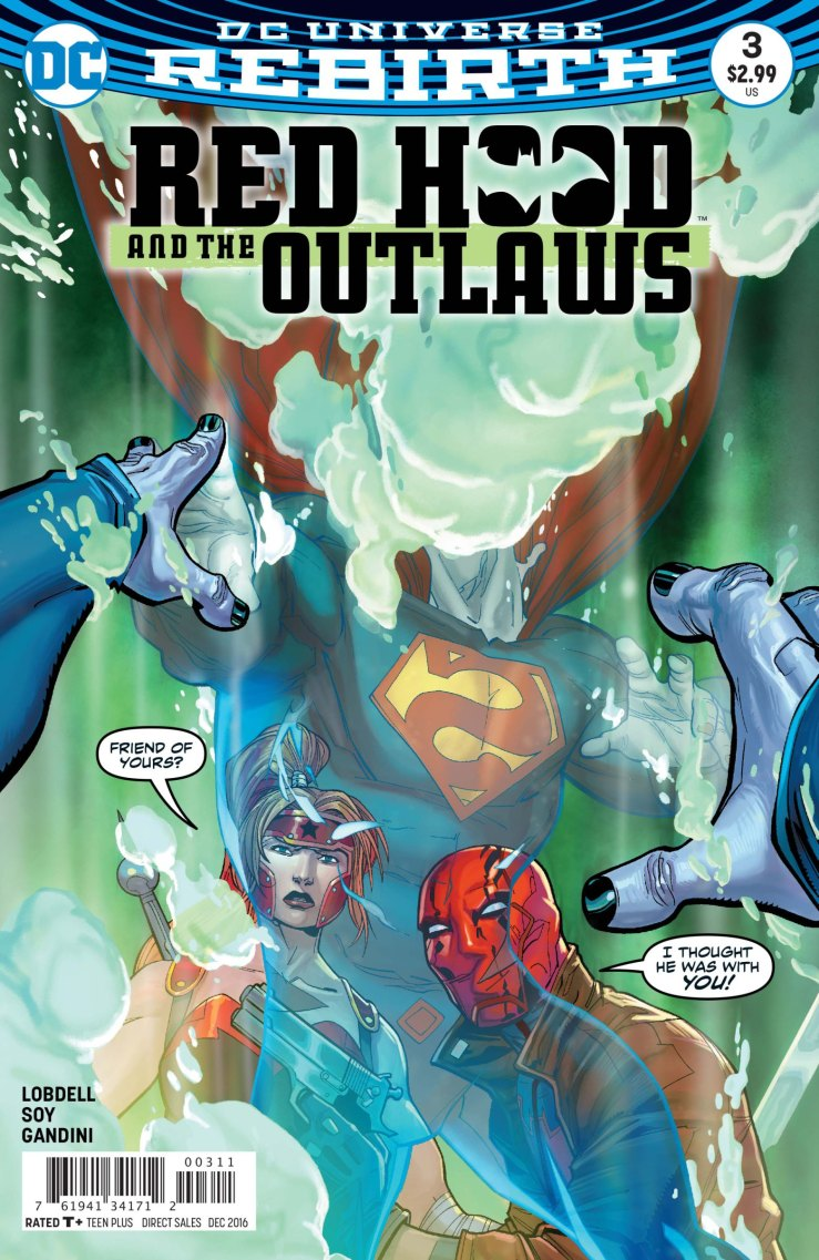 Red Hood and the Outlaws #3 Review