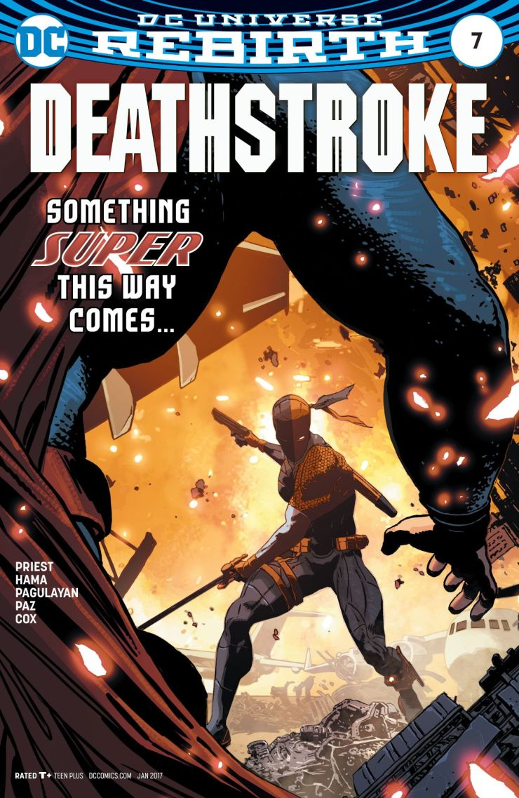 Deathstroke just faced off against Batman, so how about we pit him against Superman and see how that plays out?