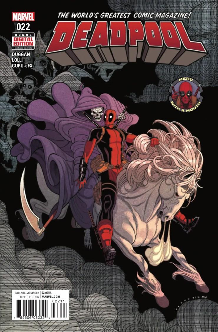 Deadpool #22 Review