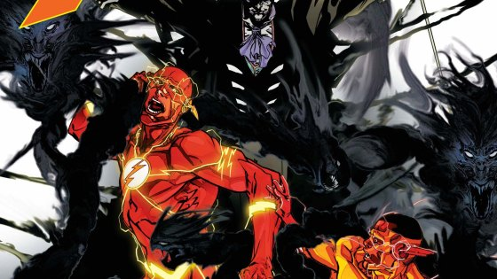 """THE SPEED OF DARKNESS"" part one! A villain from The Flash's history returns for the first time in years when The Shade visits Central City. But what does Opal City's master of shadow want with Barry Allen and the newly christened Kid Flash?"