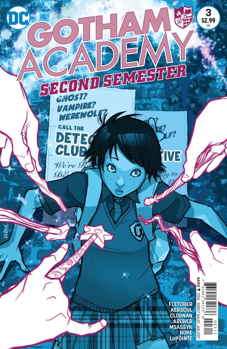 Gotham Academy: Second Semester #3 Review
