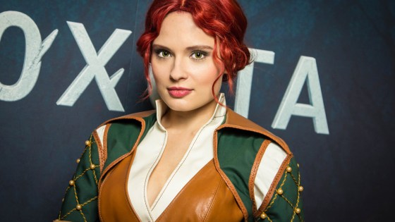 The Witcher: Triss Merigold Cosplay by Kristina Pudavova