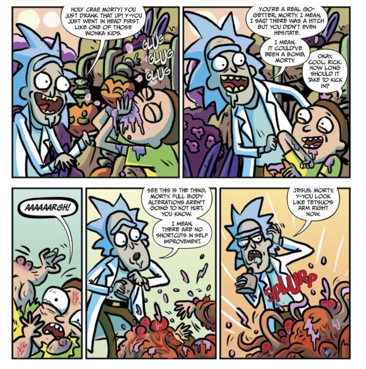 Rick and Morty #20 Review