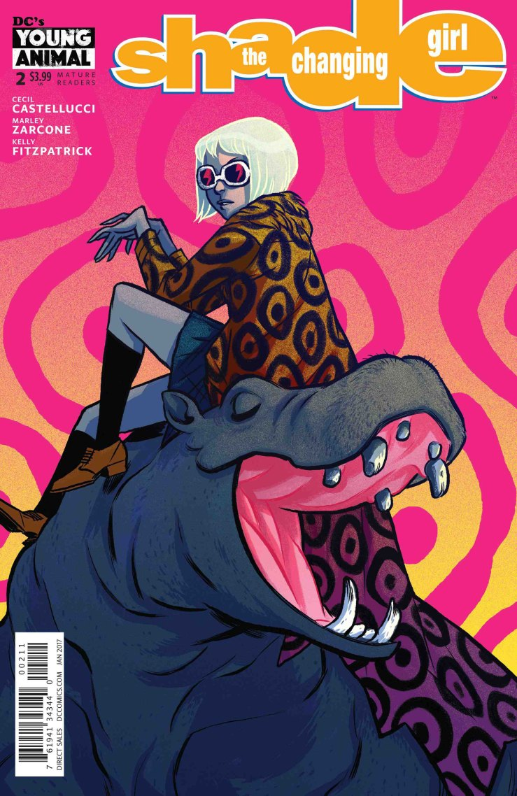 Shade the Changing Girl #2 Review