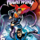 The last eight issues of this series have slowly rolled the character that is Nightwing pretty much back to where he was pre-New 52; he's back in the costume and has his name Dick Grayson back to use with his buddies. Only a few more details can bring him completely back to his roots and maybe Superman will be the one to take him there in this issue.  Is it good?