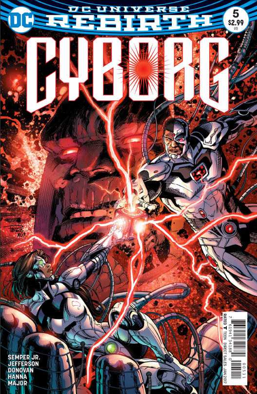 Cyborg #5 Review