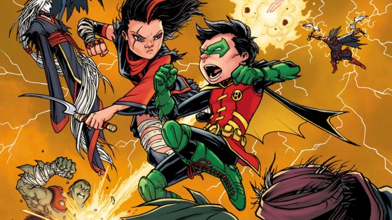 """""""DAMIAN KNOWS BEST"""" part three! After Ra's al Ghul and the Demon land a devastating blow against the Teen Titans, the team is forced to regroup. Facing an enemy that knows them better than they know themselves, what chance does this young team have? And how can they trust Damian after everything he's put them through?"""