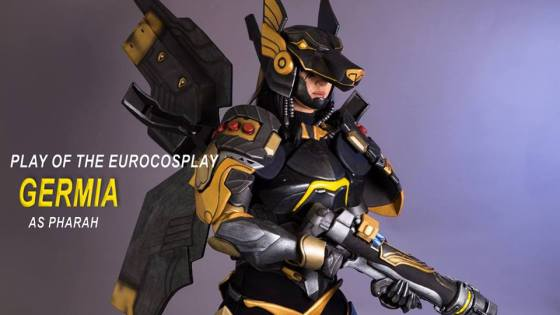 Overwatch: Anubis Pharah Cosplay by Germia