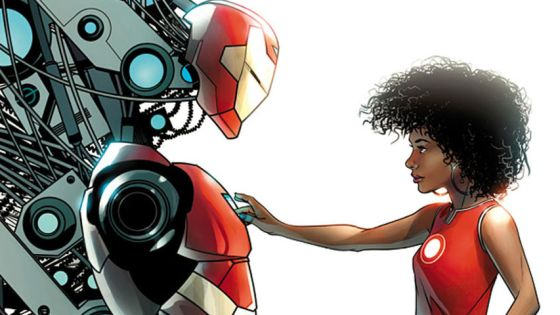 Now here's a comic that's been surrounded in controversy since the moment it was announced.  A brand new character, Riri Williams, AKA Ironheart, is taking over as lead for the main Iron Man series.  Before you complain that the change is simply to incite sales or to force a new character down our throats, let's actually give this comic a fair shake.  Is it good?