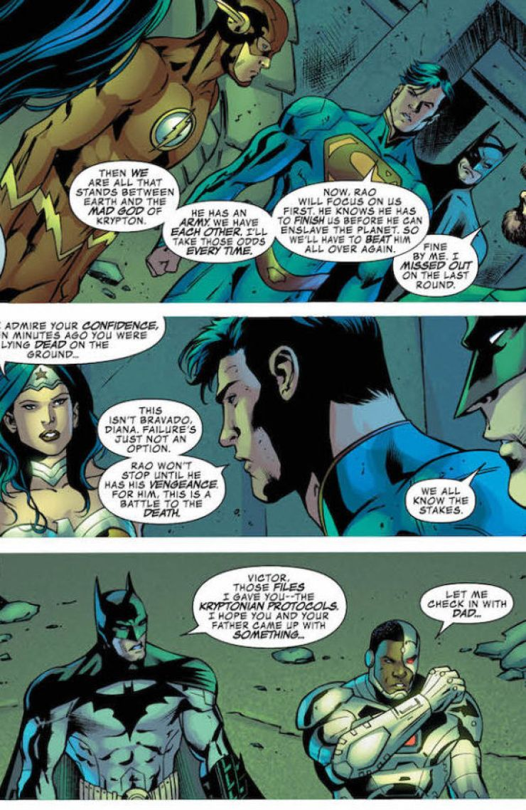 Justice League of America #10 Review