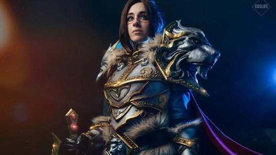 World of Warcraft: Varian Wrynn Cosplay by Oshley
