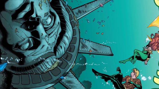 Aquaman isn't just a superhero, but the leader of an entire culture; we recently spoke to writer Dan Abnett about this and how important it is in his current storyline. Based on the last issue, things are getting very escalated for Aquaman and Atlantis, but how is today's issue? Is it good?