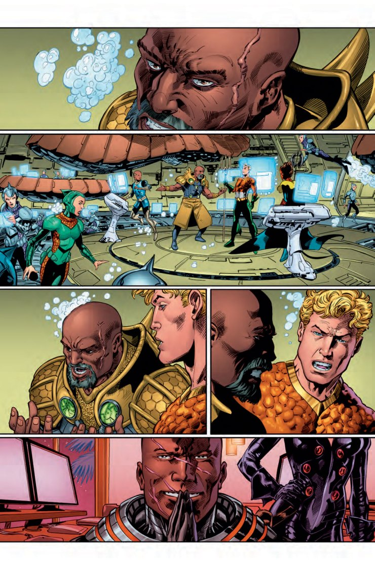 Into the Depths: Dan Abnett Talks Aquaman, Guardians of the Galaxy, and Finding Inspiration