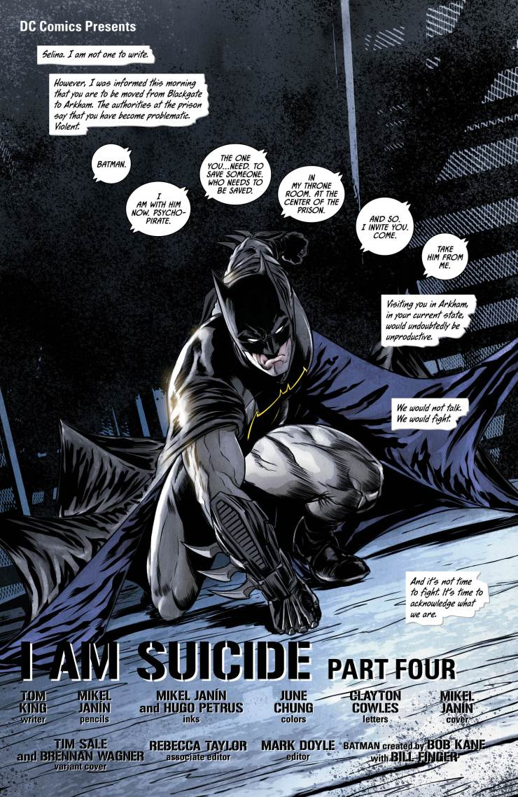 Batman Vol. 2: I Am Suicide (Rebirth) Review