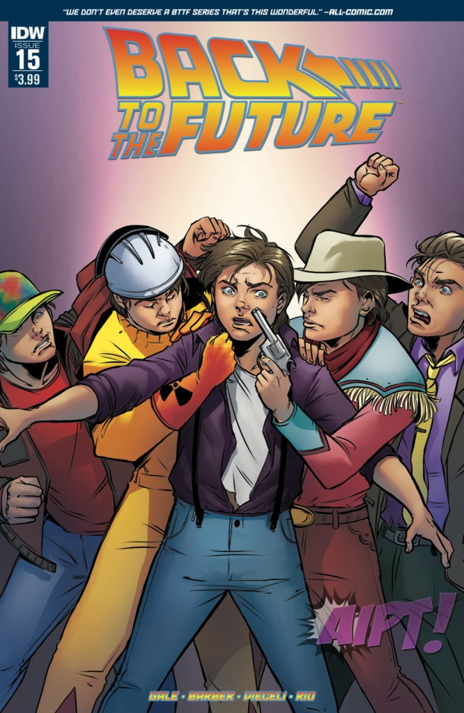 Back to the Future #15 Review