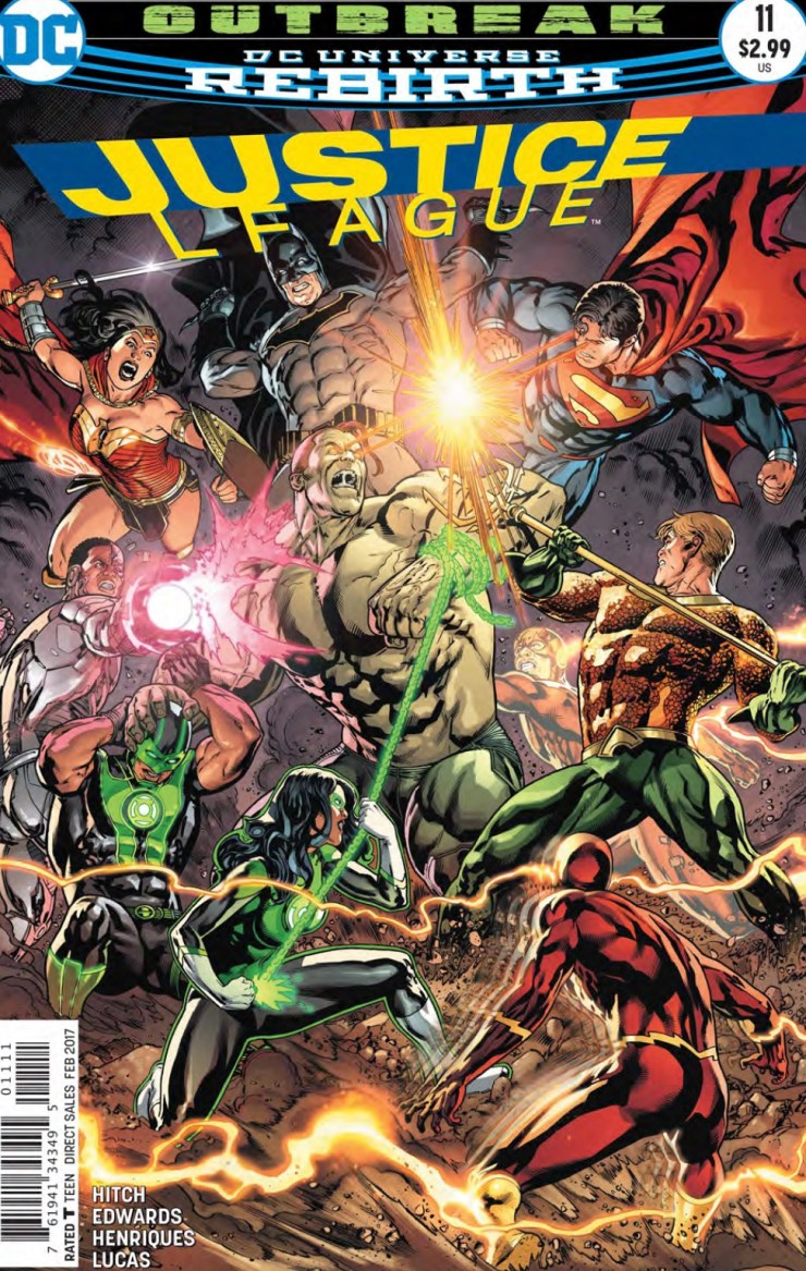 The Justice League were hacked and now they're dealing with a fallout that includes a cadre of their most famous villains. This issue wraps things up, but is it good?