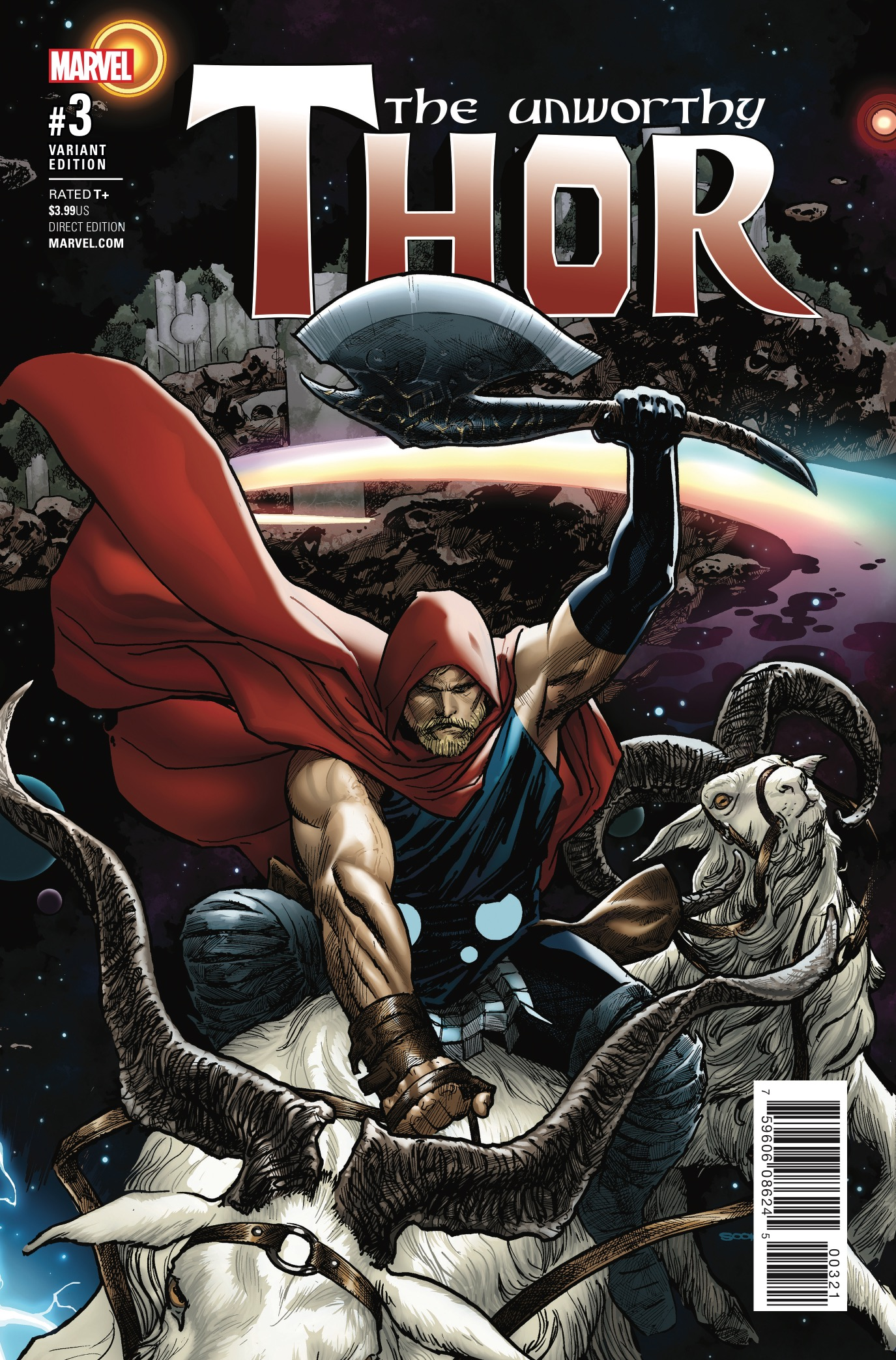 The Unworthy Thor #3 Review