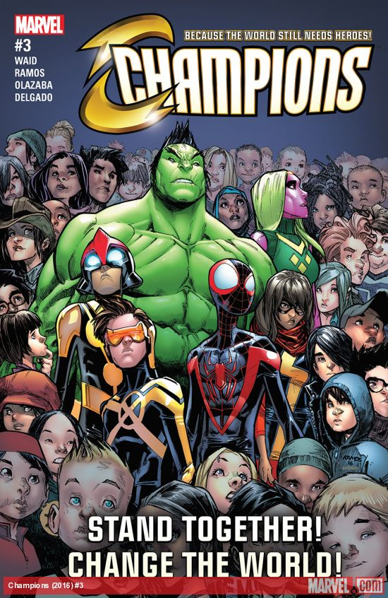 Champions #3 Review