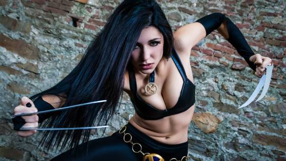 X-Men: X-23 Cosplay by Ambra and Aurra Pazzani