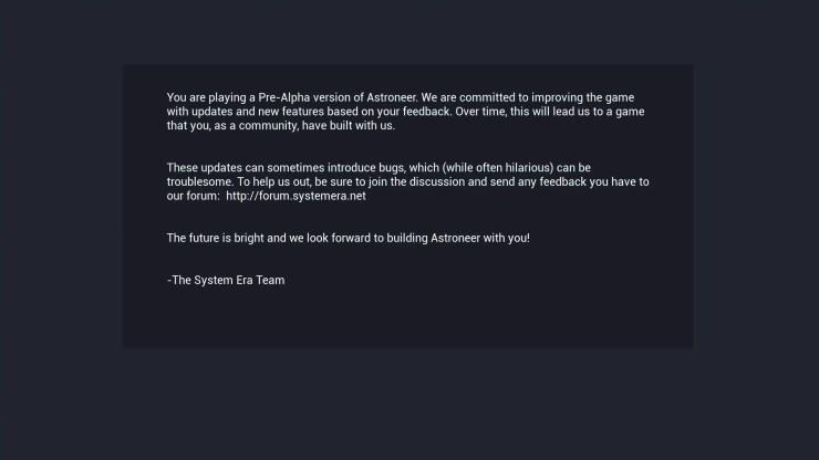 Pre-Alpha Preview: Astroneer