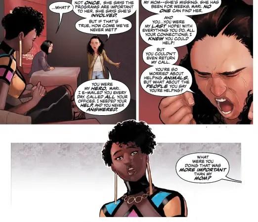 Justice League of America: Vixen Rebirth #1 Review