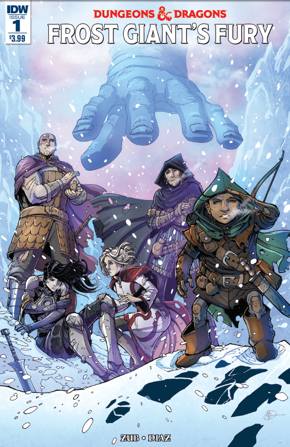 Dungeons & Dragons: Frost Giants Fury #1 Review