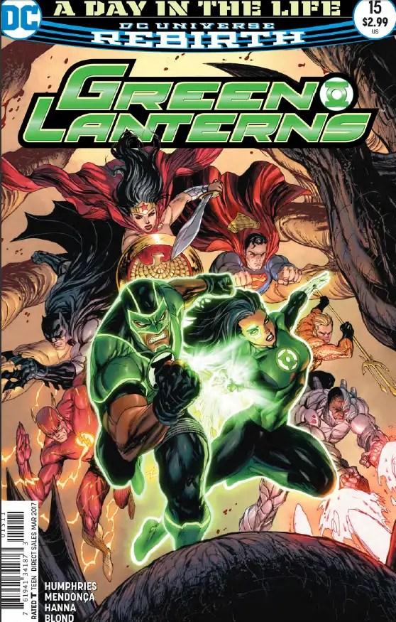 Green Lanterns #15 Review