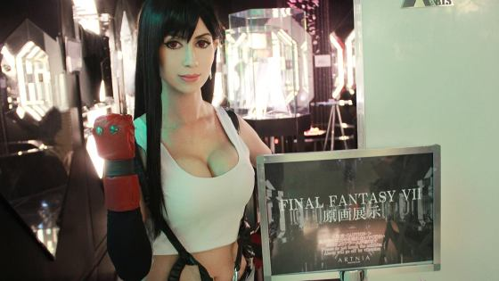 "Hailed by The New York Times as the ""pin-up girl of the 'cyber generation',"" Final Fantasy VII's Tifa Lockhart is a character beloved by myriad fans not only for her physical appearance but her tough, independent demeanor that set a tradition for RPG heroines."