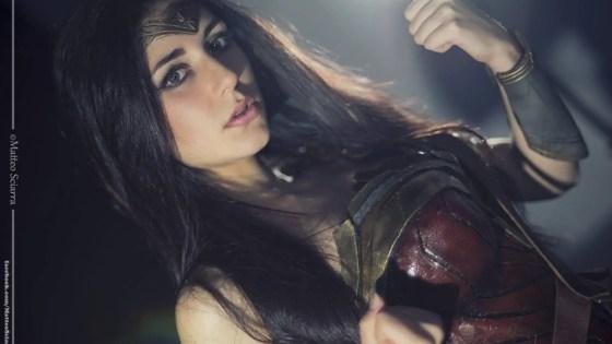 Wonder Woman Cosplay by Ambra Pazzani