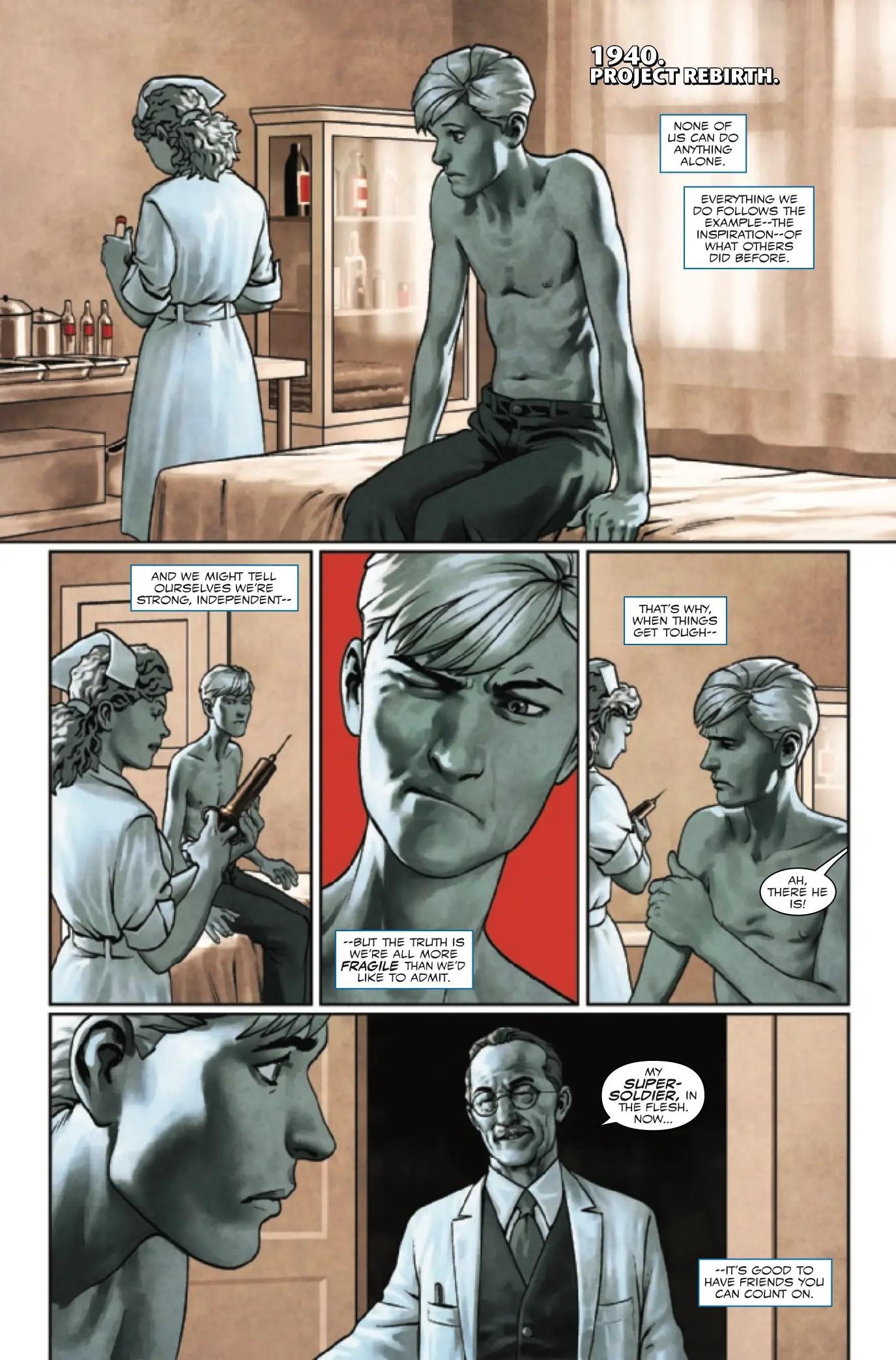Captain America: Steve Rogers #11 Review