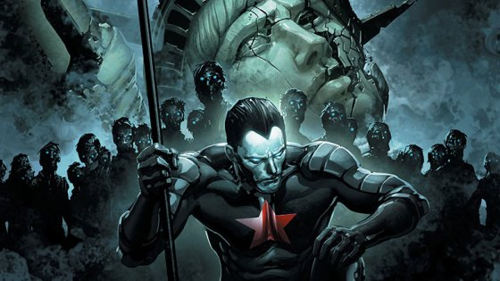 In an alternate universe where Russia takes over America (how well timed considering Putin and Trump allegations) -- it's not looking good for the land of the free. A few heroes stand in defiance of the takeover and this issue gives Shadowman the focus, but is it good?