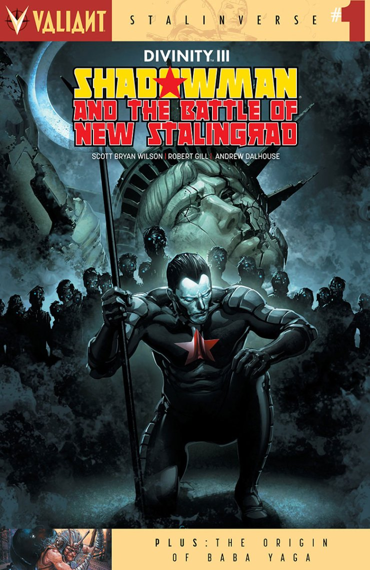 Divinity III: Shadowman and the Battle of New Stalingrad #1 Review