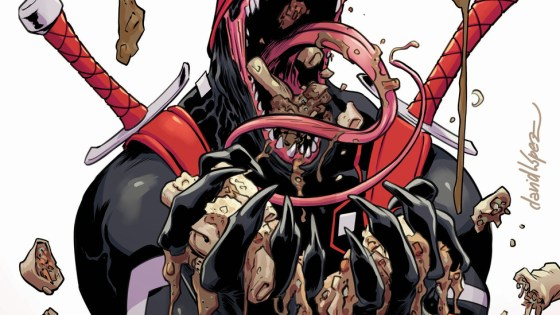 There's something amiss with Deadpool's marital bliss! And a domestic dispute as unpredictable as Deadpool himself could spell grave consequences for the entire world! Today, Marvel is pleased to present your first look inside DEADPOOL #28 – the first chapter of 'Til Death Do Us… Writer Gerry Duggan continues his sweeping Deadpool saga alongside artist Salva Espin for the first chapter in a blistering 6-issue crossover with Spider-Man/Deadpool and Deadpool & the Mercs for Money!
